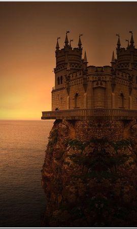 28890 скачать обои Пейзаж, Горы, Море, Замки - заставки и картинки бесплатно