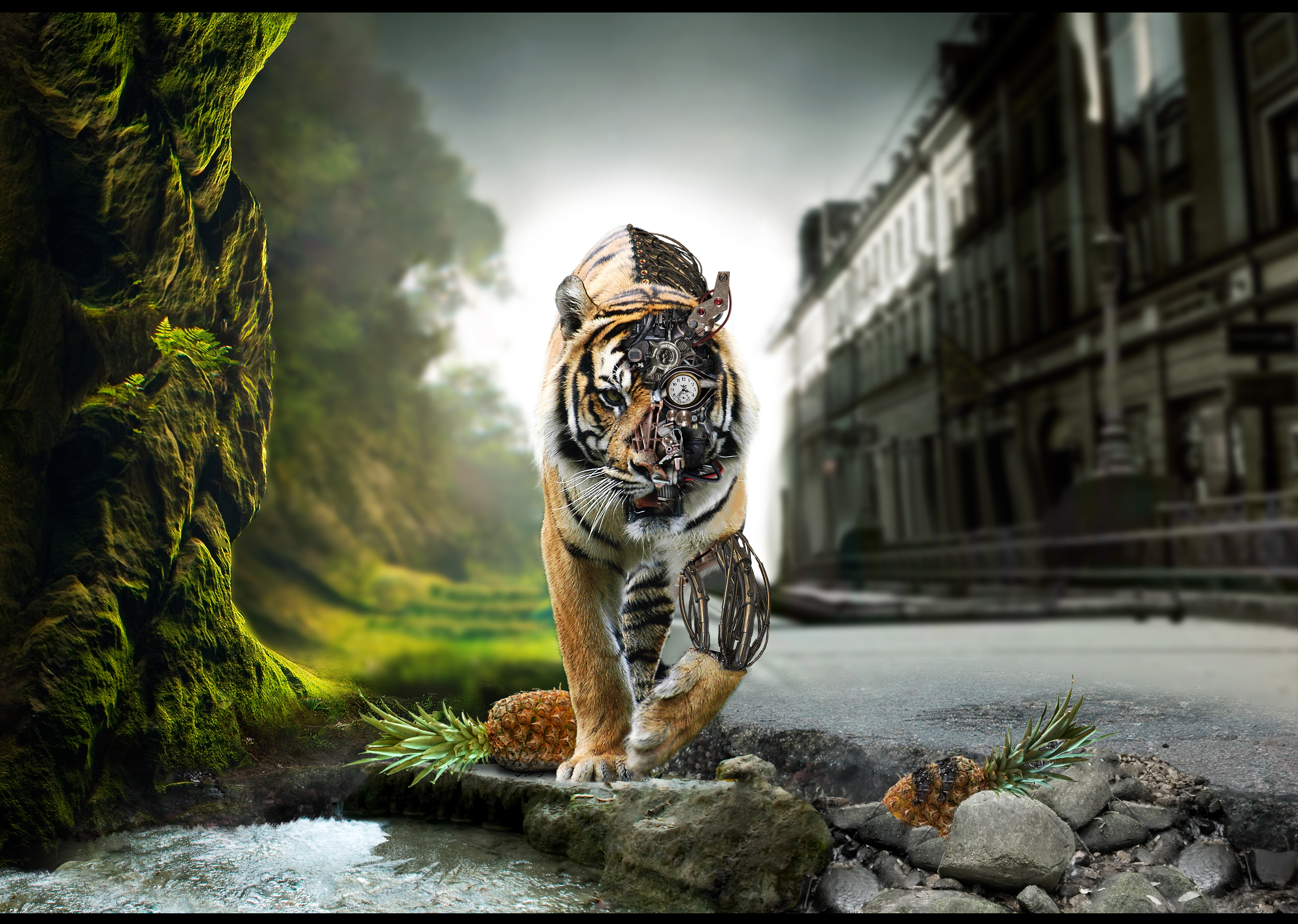 13942 Screensavers and Wallpapers Robots for phone. Download Animals, Art, Robots, Tigers pictures for free
