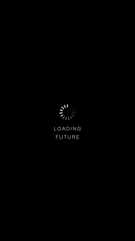 123629 Hintergrundbild herunterladen Die Wörter, Wörter, Das Schwarze, Minimalismus, Text, Zukunft, Wird Geladen, Laden - Bildschirmschoner und Bilder kostenlos