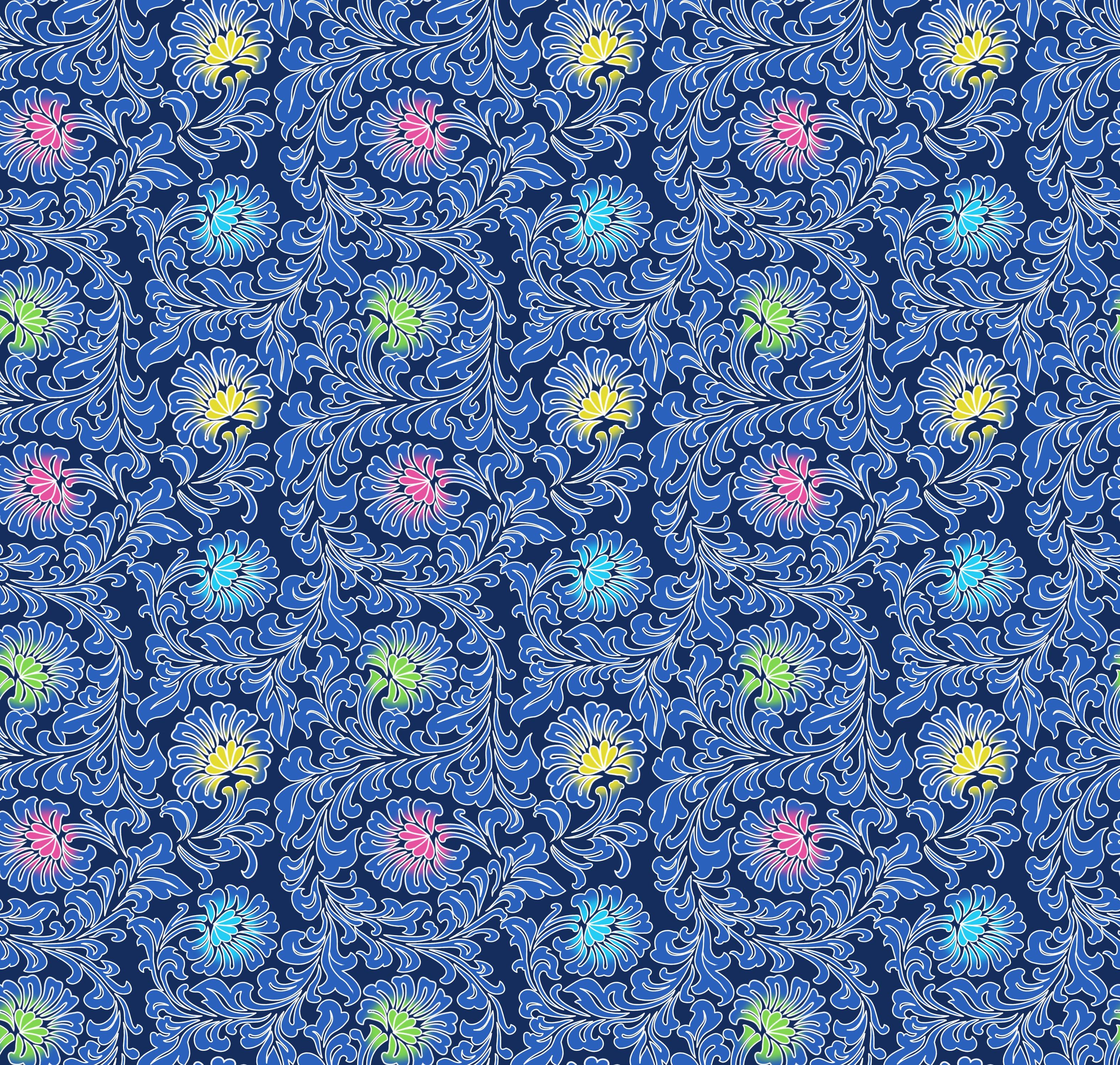 59252 Заставки и Обои Азия на телефон. Скачать Цветы, Азия, Узоры, Текстуры, Синий, Бесшовный картинки бесплатно