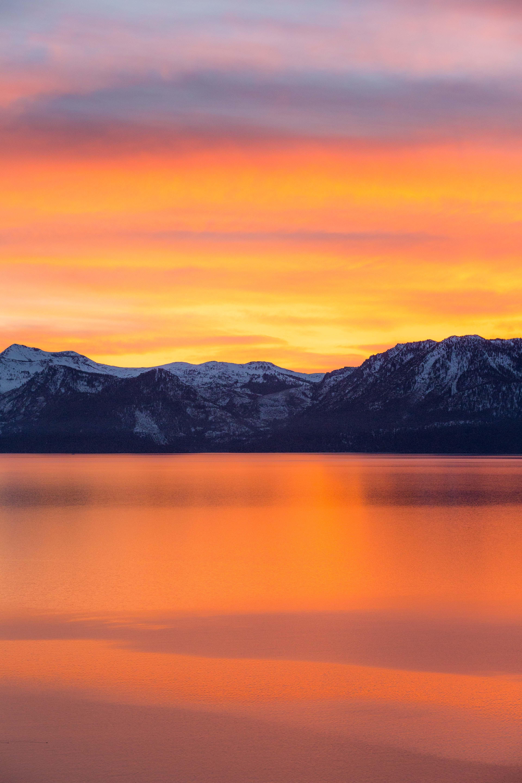 156112 fond d'écran 720x1280 sur votre téléphone gratuitement, téléchargez des images Nature, Montagnes, Mer, Aube, Horizon 720x1280 sur votre mobile