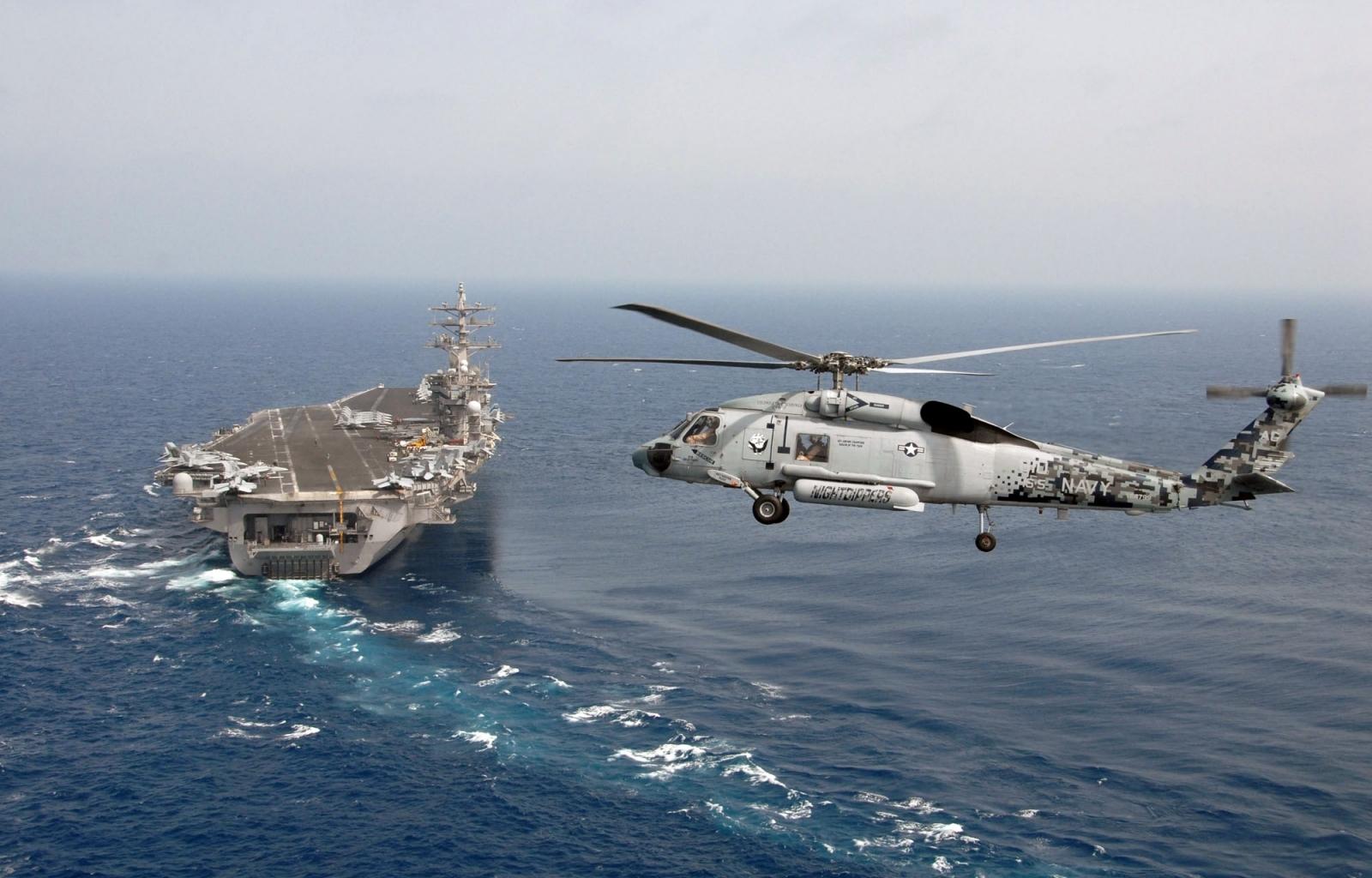 38693 скачать обои Пейзаж, Корабли, Вертолеты - заставки и картинки бесплатно