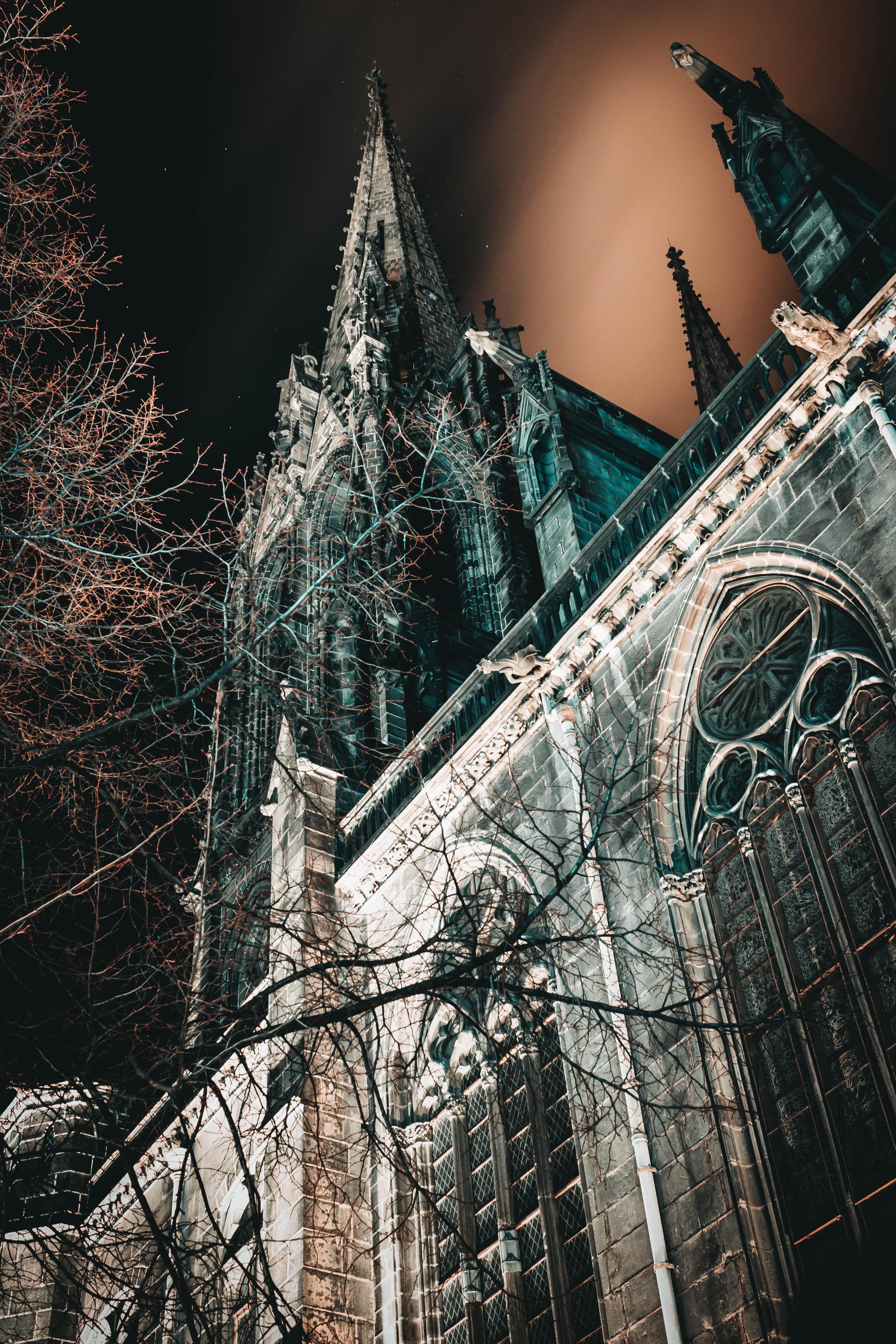 147144 Hintergrundbild herunterladen Architektur, Städte, Gothic, Gebäude, Alt, Turm - Bildschirmschoner und Bilder kostenlos