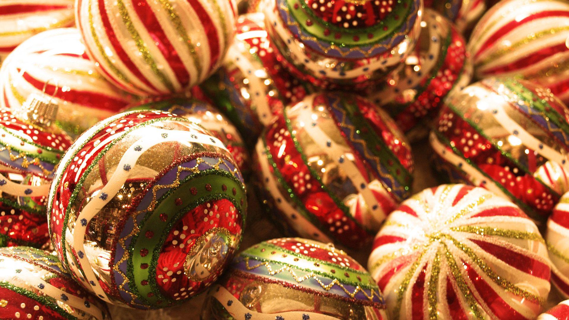 60760 Hintergrundbild herunterladen Feiertage, Neujahr, Spielzeug, Weihnachten, Neues Jahr, Bälle, Weihnachtsdekorationen, Weihnachtsbaumdekoration - Bildschirmschoner und Bilder kostenlos