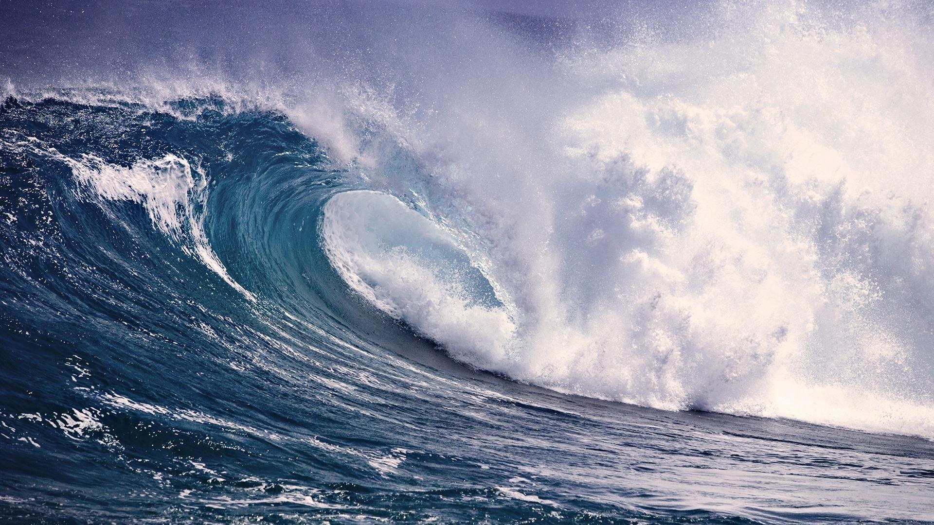 Скачать картинку Волны, Море, Пейзаж в телефон бесплатно.