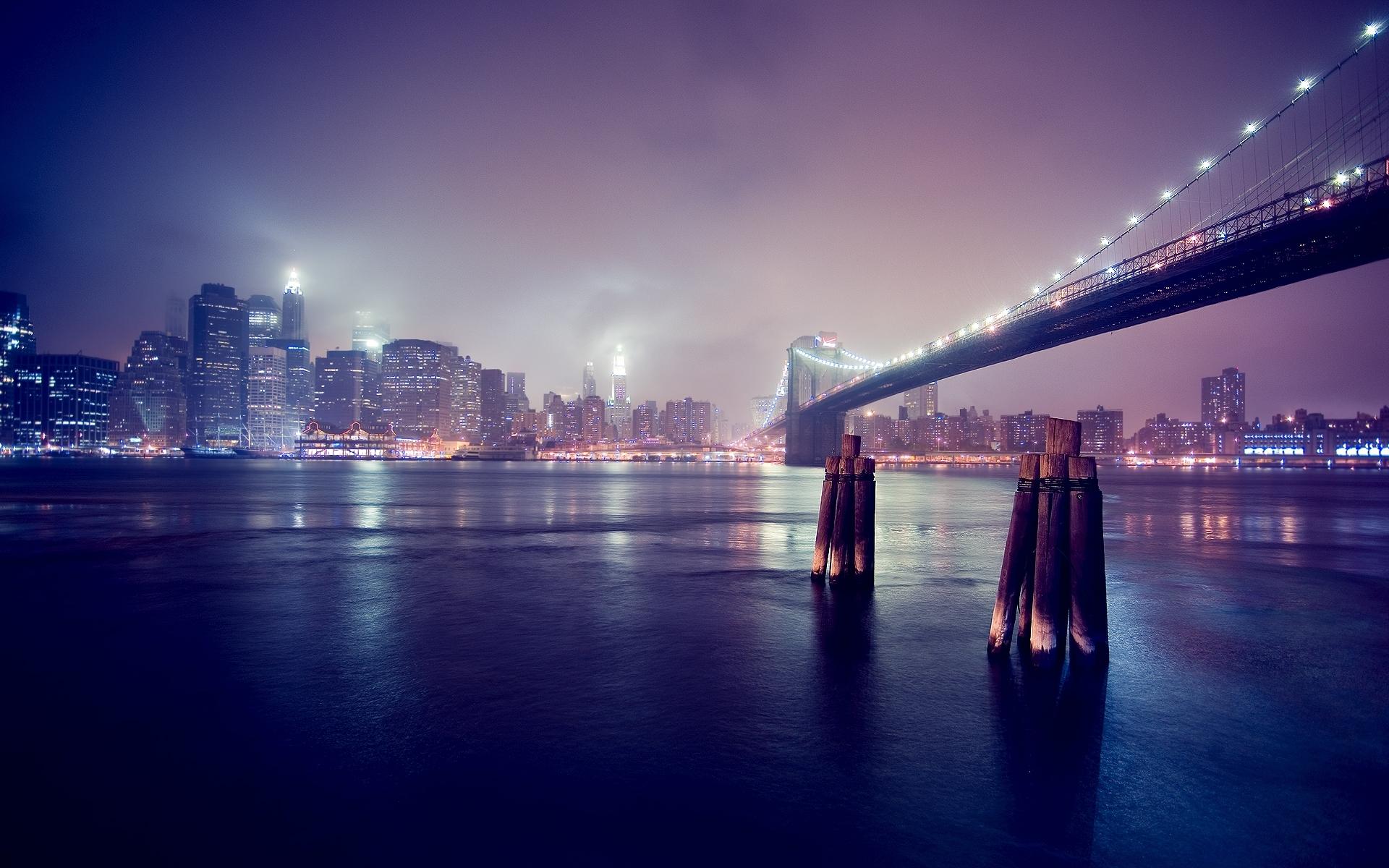 2735 скачать обои Пейзаж, Города, Река, Мосты - заставки и картинки бесплатно
