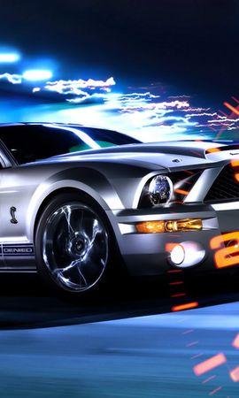 724 descargar fondo de pantalla Transporte, Automóvil, Vado, Mustango: protectores de pantalla e imágenes gratis