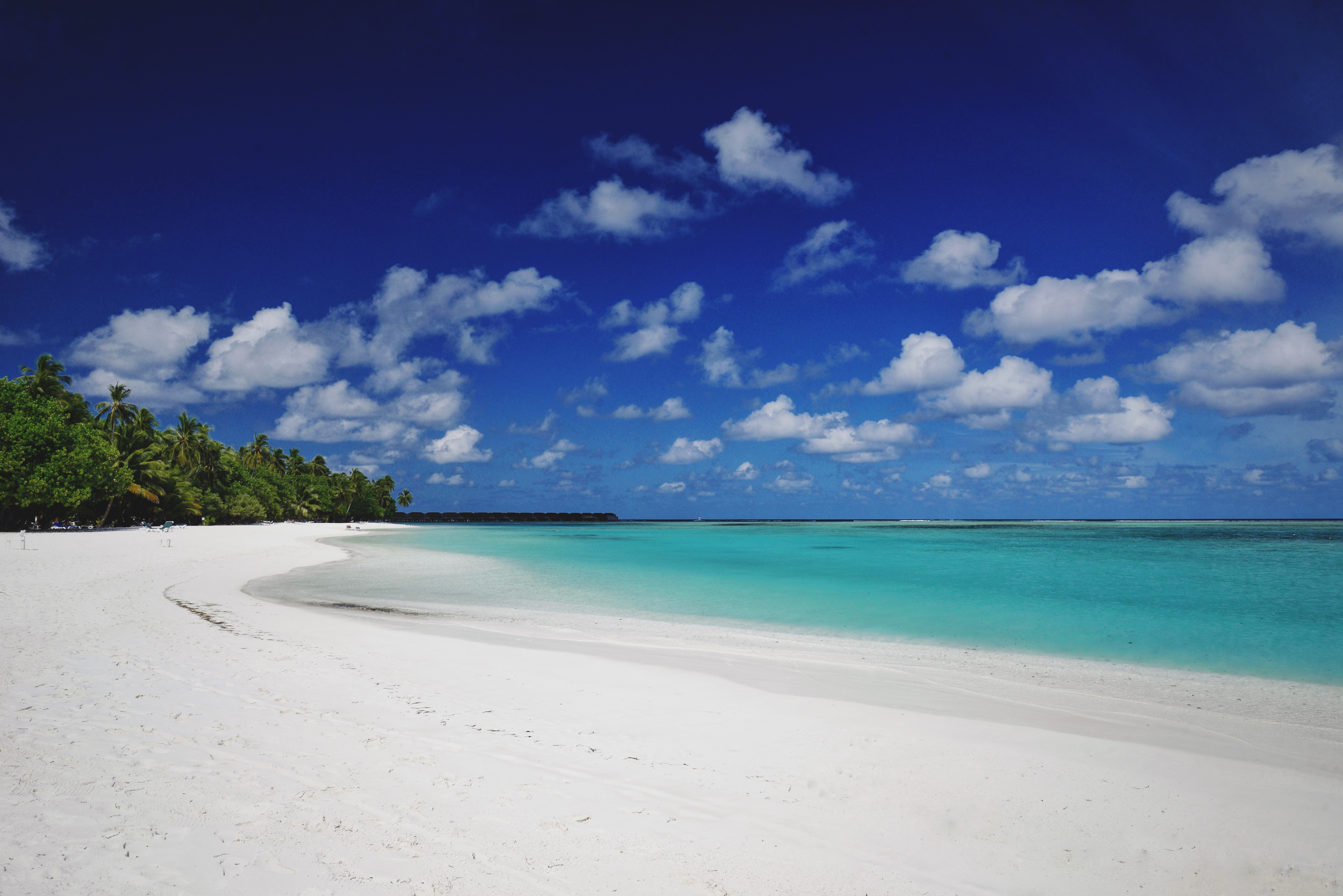 87676 Screensavers and Wallpapers Island for phone. Download Nature, Beach, Sand, Palms, Island, Tropical, Maldives pictures for free