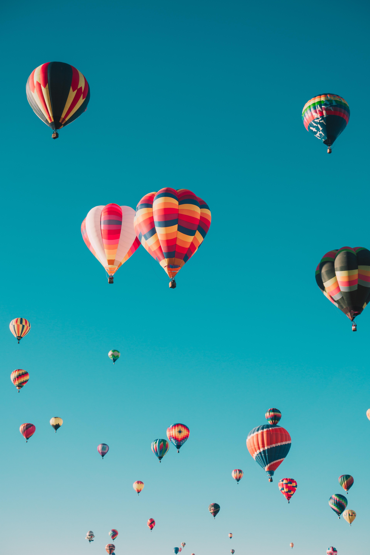 143277 скачать обои Разное, Аэростаты, Полет, Небо, Разноцветный, Воздушные Шары - заставки и картинки бесплатно