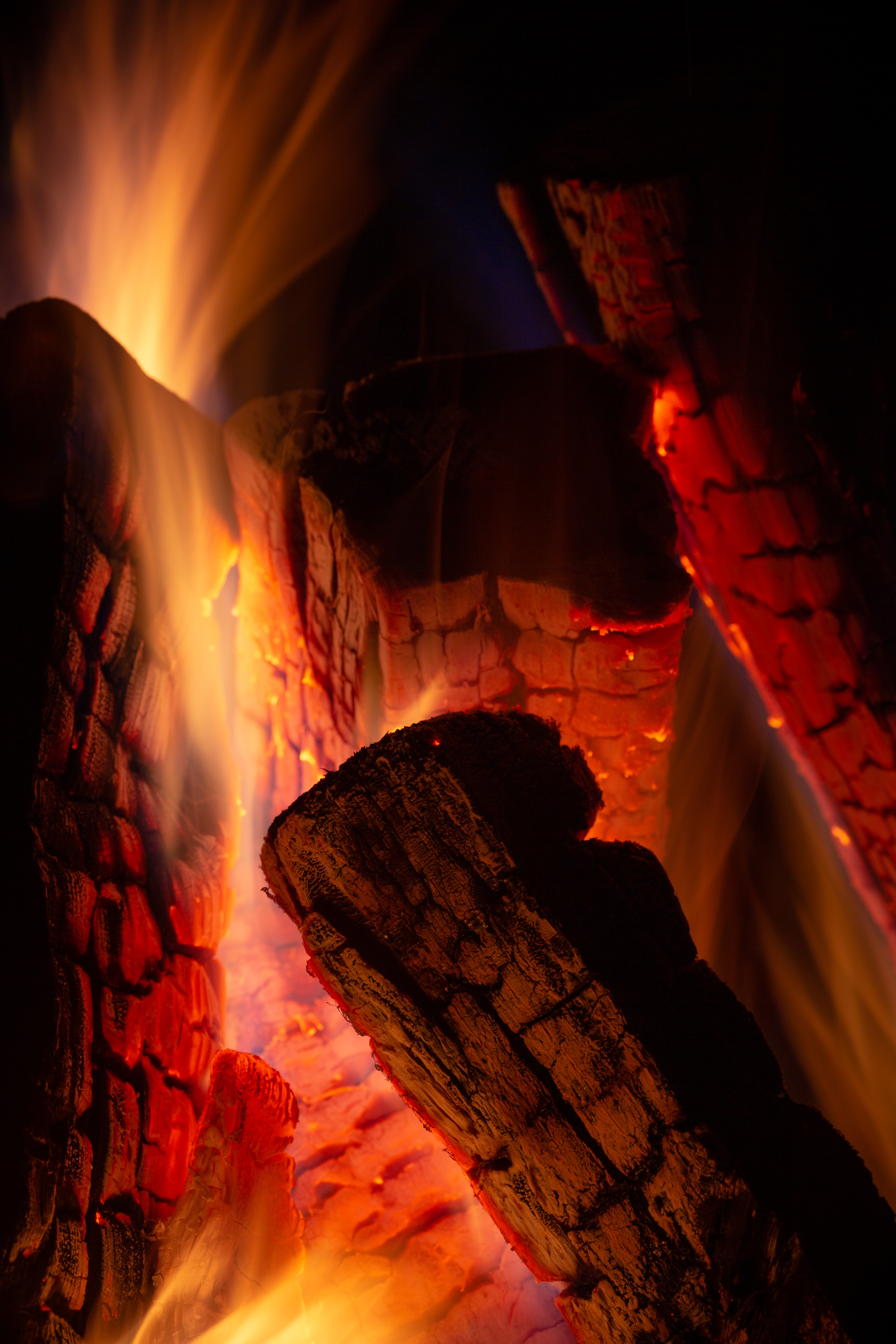84494 Screensavers and Wallpapers Firewood for phone. Download Fire, Coals, Dark, Flame, Firewood, To Burn, Burn pictures for free