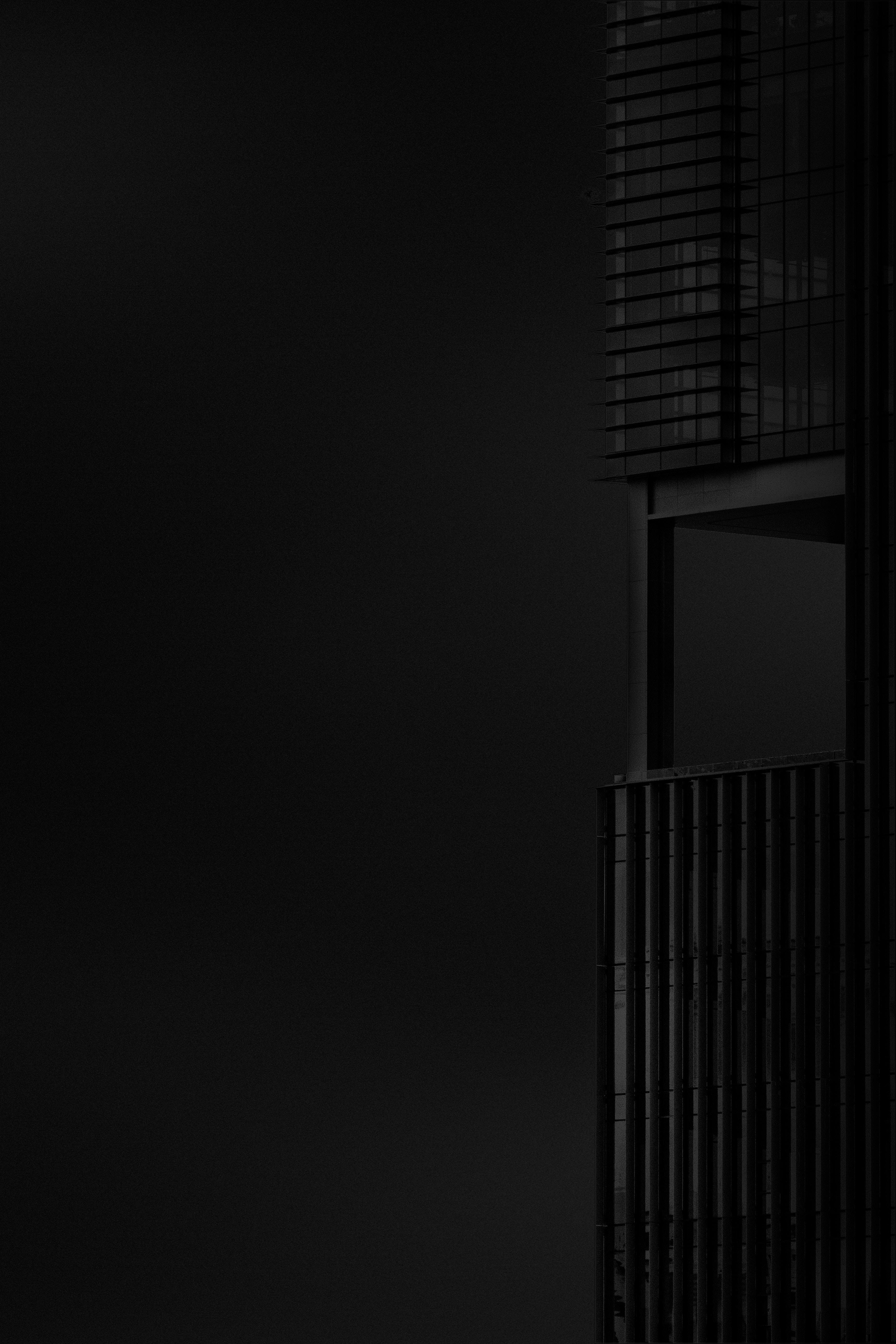 60871 Salvapantallas y fondos de pantalla Arquitectura en tu teléfono. Descarga imágenes de Minimalismo, Edificio, Bw, Chb, El Negro, Oscuro, Arquitectura gratis