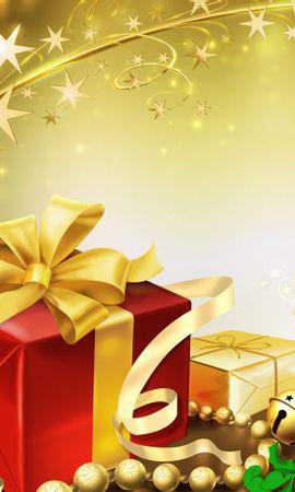 21870 descargar fondo de pantalla Vacaciones, Fondo, Año Nuevo, Navidad: protectores de pantalla e imágenes gratis