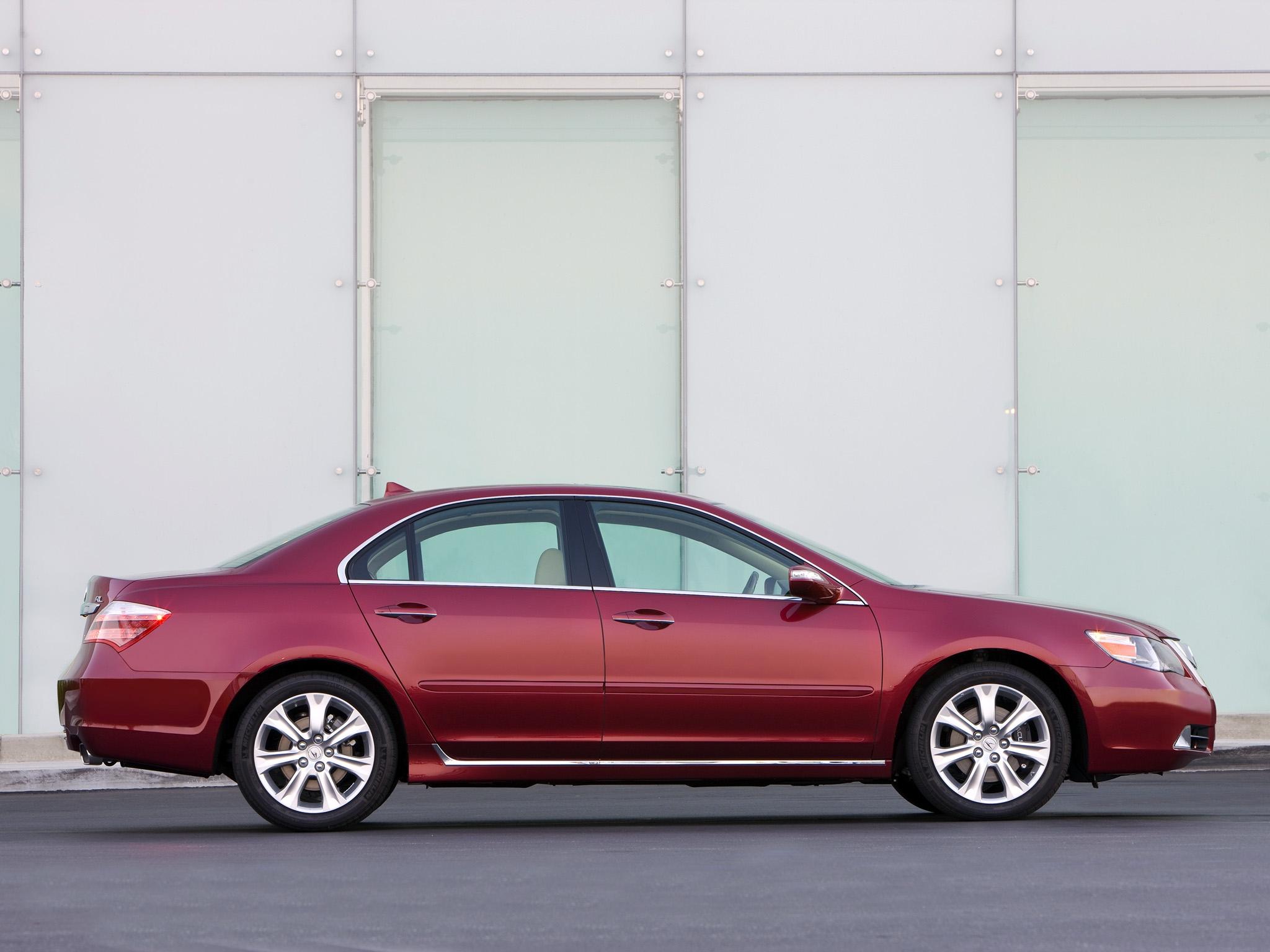 145149 скачать обои Тачки (Cars), Акура (Acura), Rl, Красный, Вид Сбоку, Акура, Машины, Стиль - заставки и картинки бесплатно