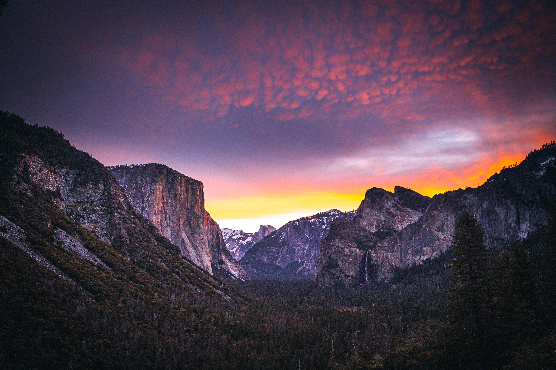 83777 Hintergrundbild 720x1280 kostenlos auf deinem Handy, lade Bilder Natur, Mountains, Wald, Dämmerung, Twilight 720x1280 auf dein Handy herunter