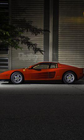 107152 télécharger le fond d'écran Voitures, Ferrari, Testarossa, F110, Vue De Côté, Nuit - économiseurs d'écran et images gratuitement