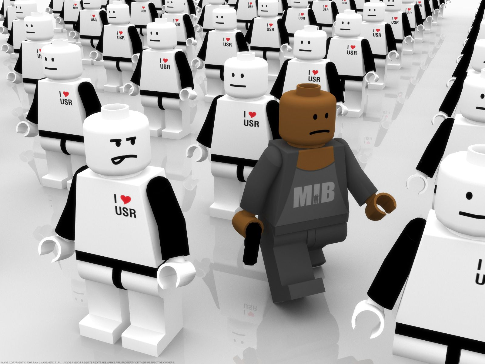 130175 Screensavers and Wallpapers Robots for phone. Download 3D, Policemen, Police, Crowd, People, Robots pictures for free
