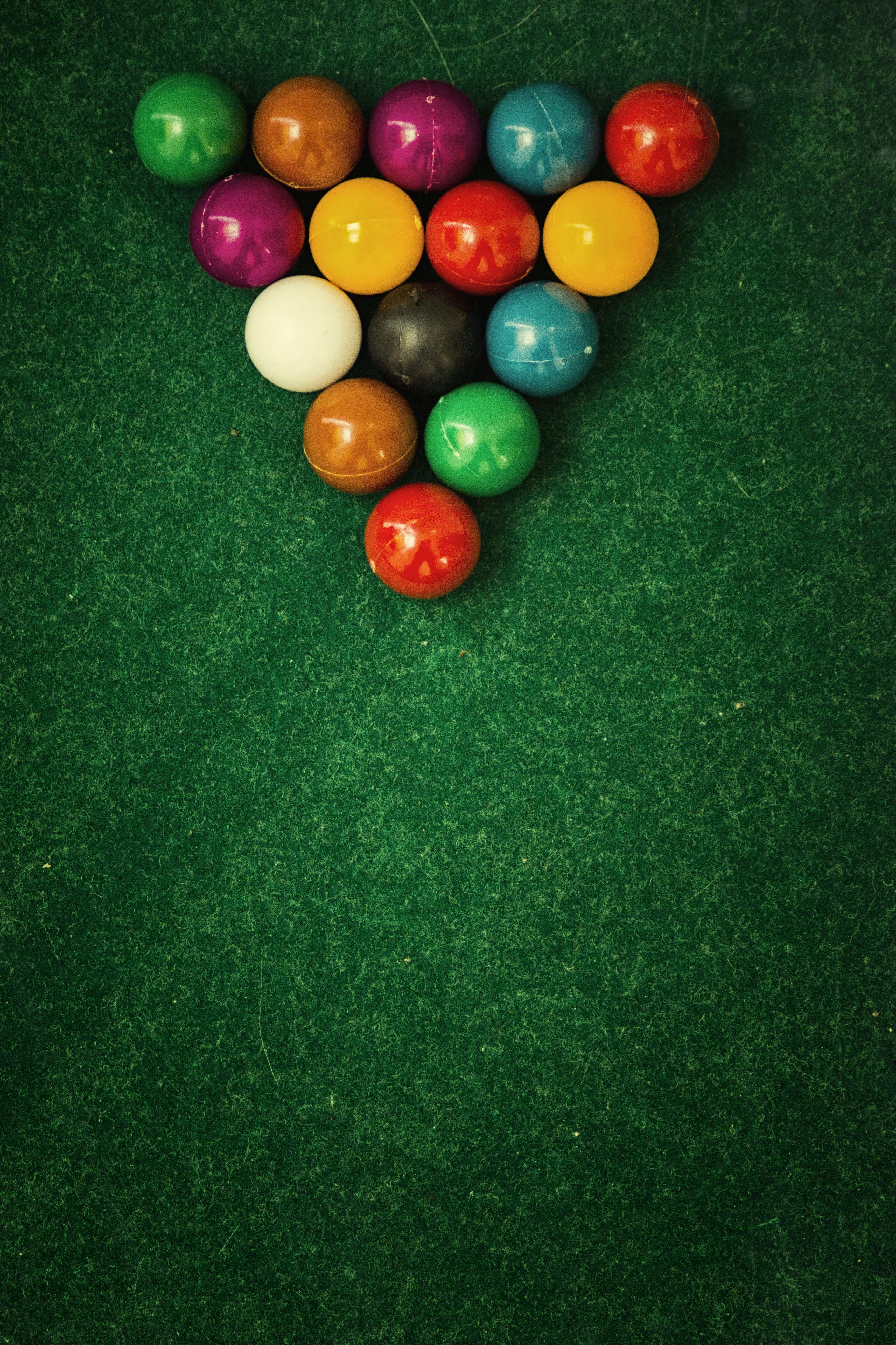 62596 descargar fondo de pantalla Deportes, Billar, Pelotas, Bolas, Tela, Snooker, Piscina: protectores de pantalla e imágenes gratis