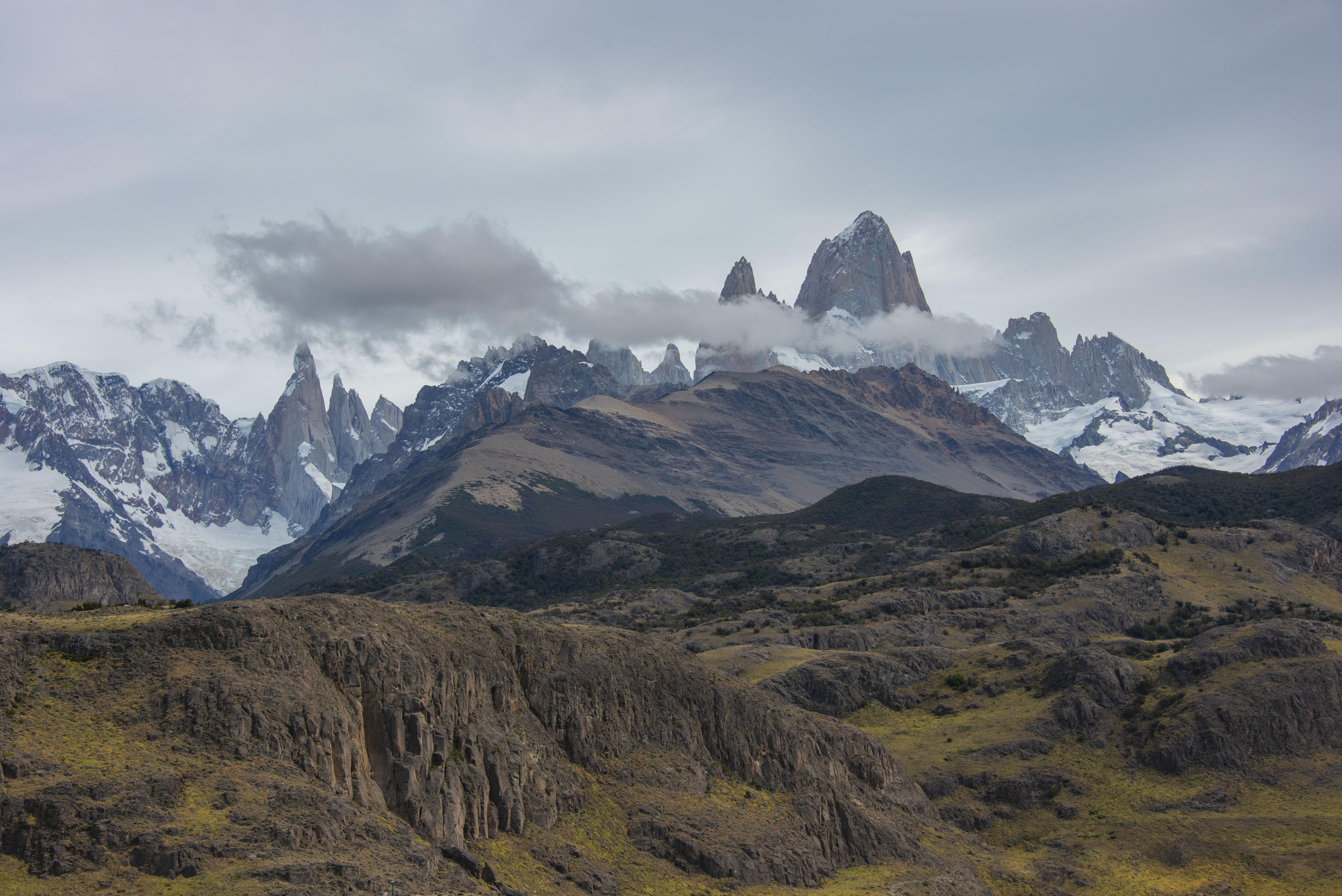 95466 免費下載壁紙 性质, 石头, 岩石, 最高额, 顶点, 云, 云端, 山, 景观 屏保和圖片