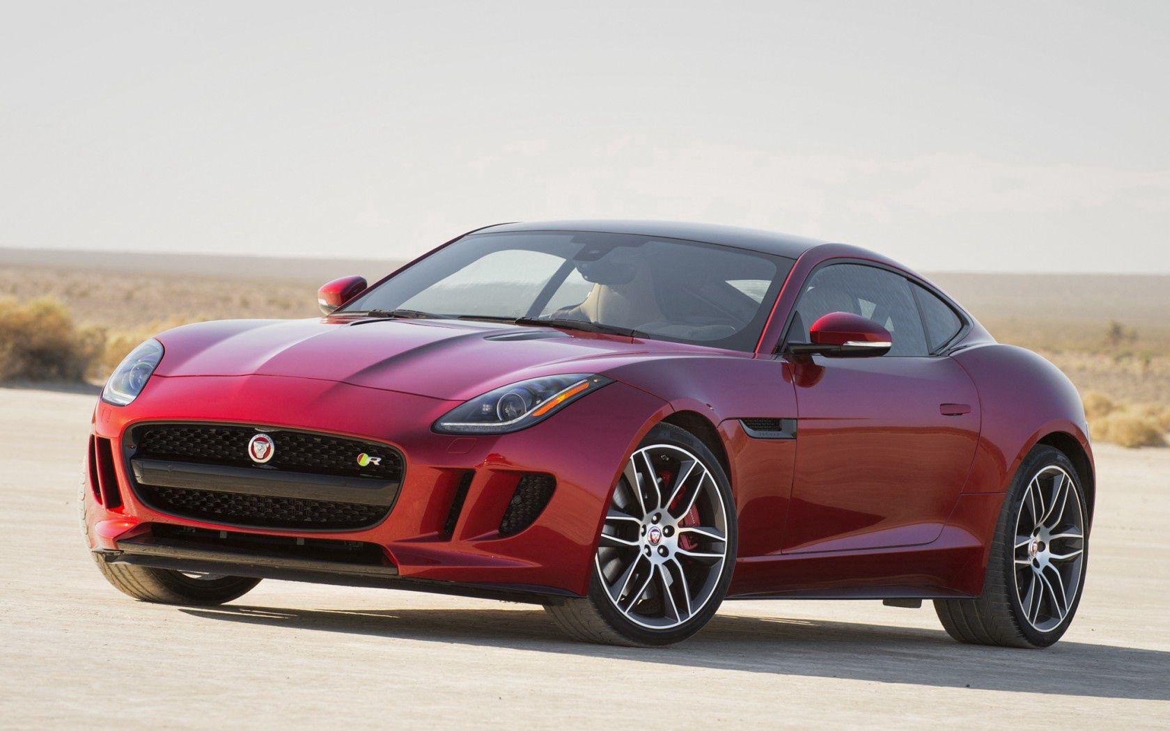 117372 скачать обои Тачки (Cars), 2015, Ягуар (Jaguar), Красный, Машины, Вид Сбоку - заставки и картинки бесплатно