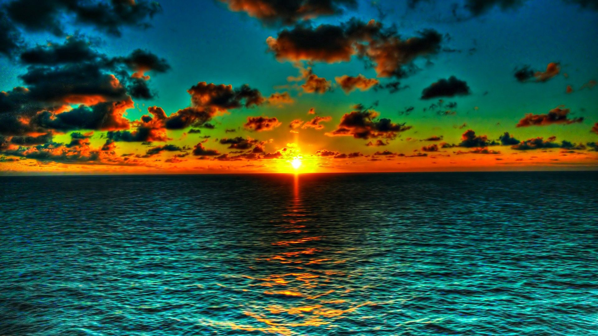 91276 Заставки и Обои Солнце на телефон. Скачать Солнце, Природа, Вода, Море, Облака, Горизонт, Цвета картинки бесплатно