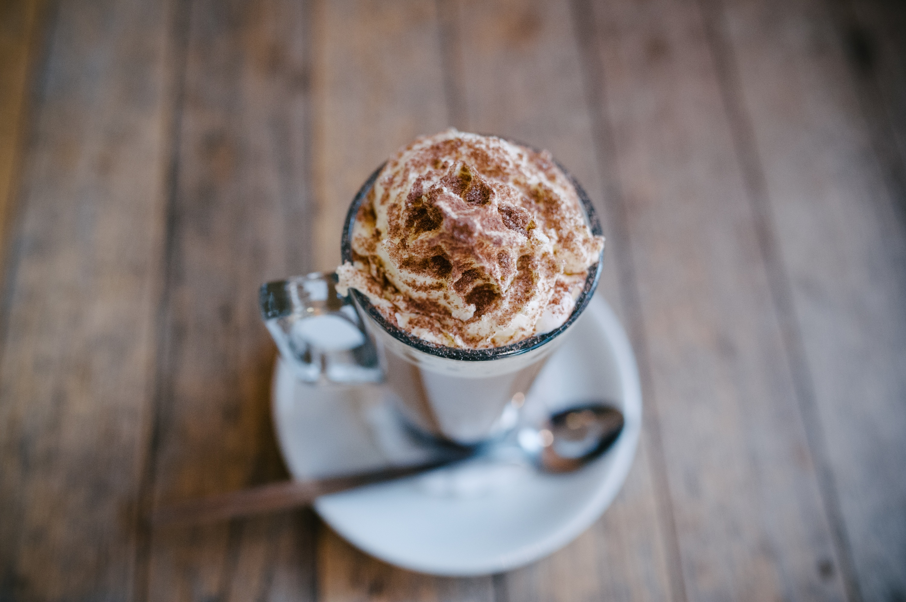 53444 download wallpaper Food, Coffee, Cream, Drink, Beverage, Cinnamon screensavers and pictures for free
