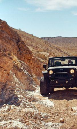 93557 Заставки и Обои Пустыня на телефон. Скачать Тачки (Cars), Jeep, Внедорожник, Скалы, Пустыня картинки бесплатно