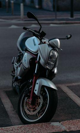 132665 descargar fondo de pantalla Motocicletas, Kawasaki Er-6N, Kawasaki, Motocicleta, Bicicleta, Deportes, Deportivo: protectores de pantalla e imágenes gratis