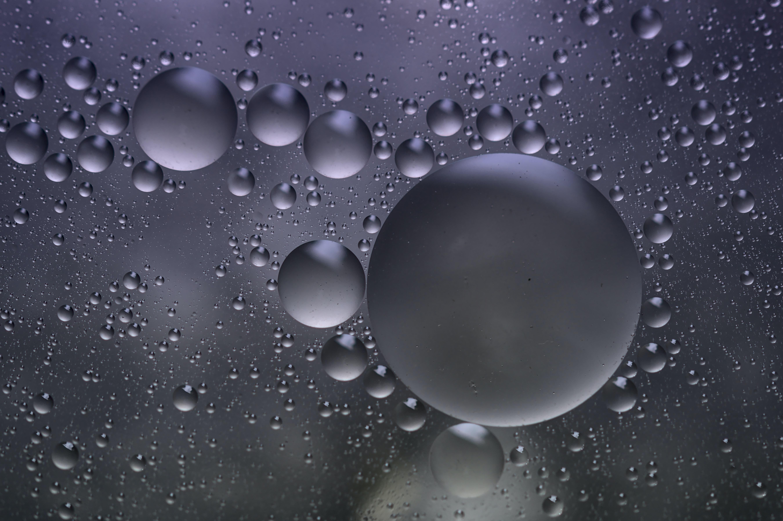 99702 descarga Gris fondos de pantalla para tu teléfono gratis, Abstracción, Agua, Redondo, Bubbles Gris imágenes y protectores de pantalla para tu teléfono