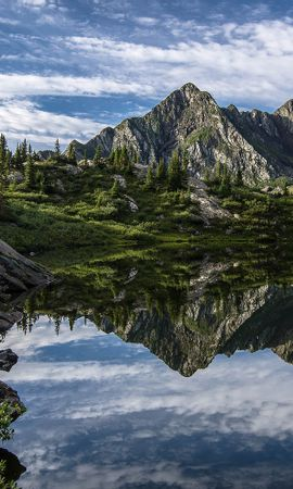36133 télécharger le fond d'écran Paysage, Montagnes, Lacs - économiseurs d'écran et images gratuitement