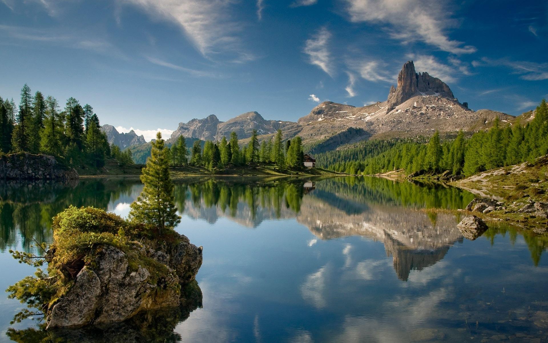 48084 Заставки и Обои Озера на телефон. Скачать Горы, Пейзаж, Природа, Озера картинки бесплатно