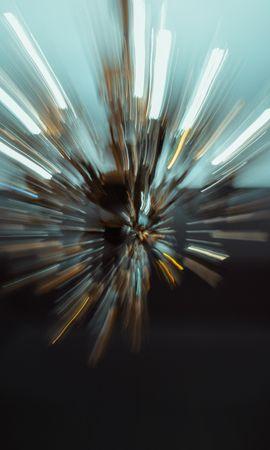 Скачать бесплатно картинку 114304: Абстракция, Свет, Размытие, Фризлайт, Силуэты обои на телефон