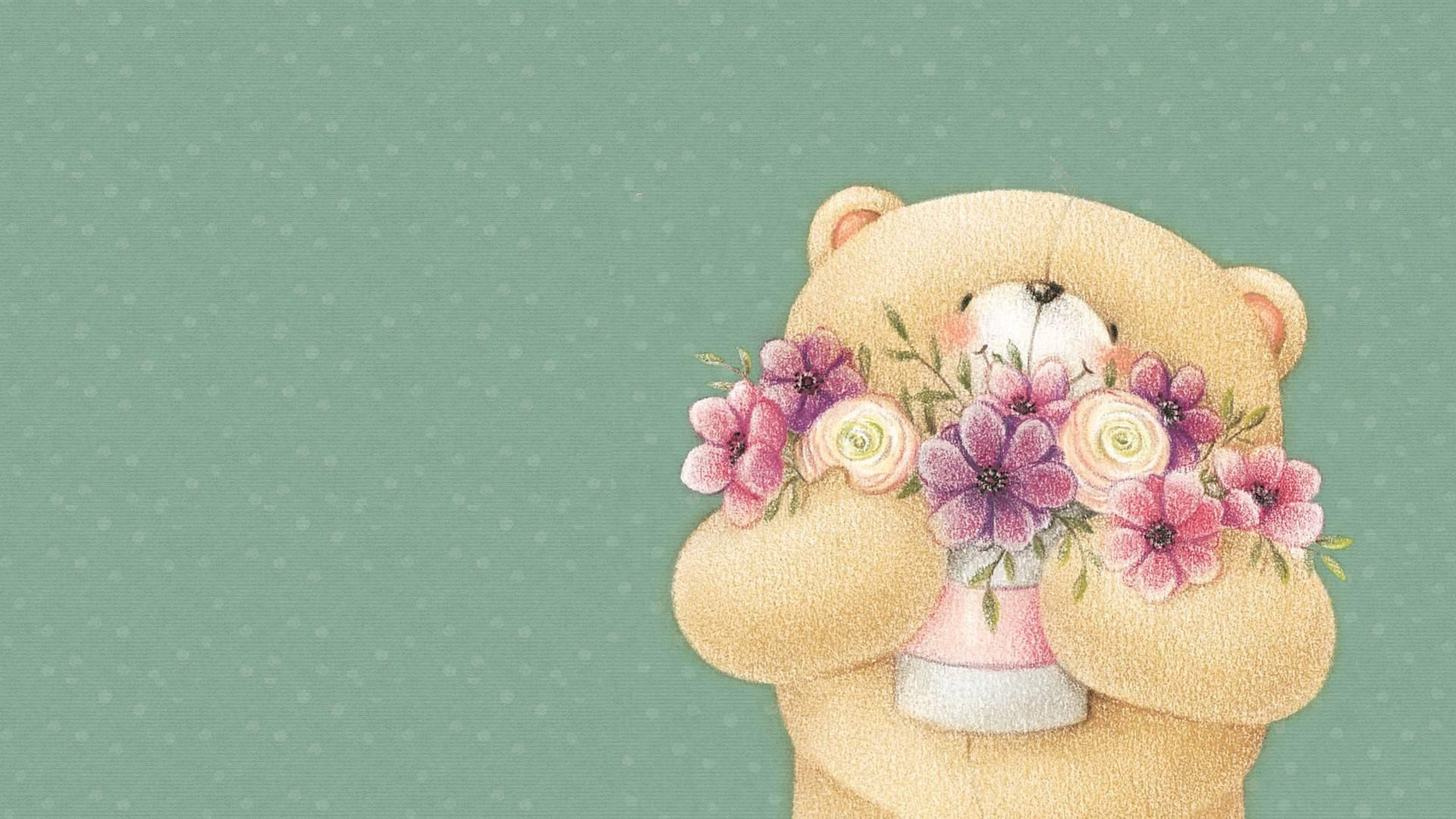 108721 Screensavers and Wallpapers Bear for phone. Download Flowers, Art, Bear, Forever Friends Deckchair Bear pictures for free