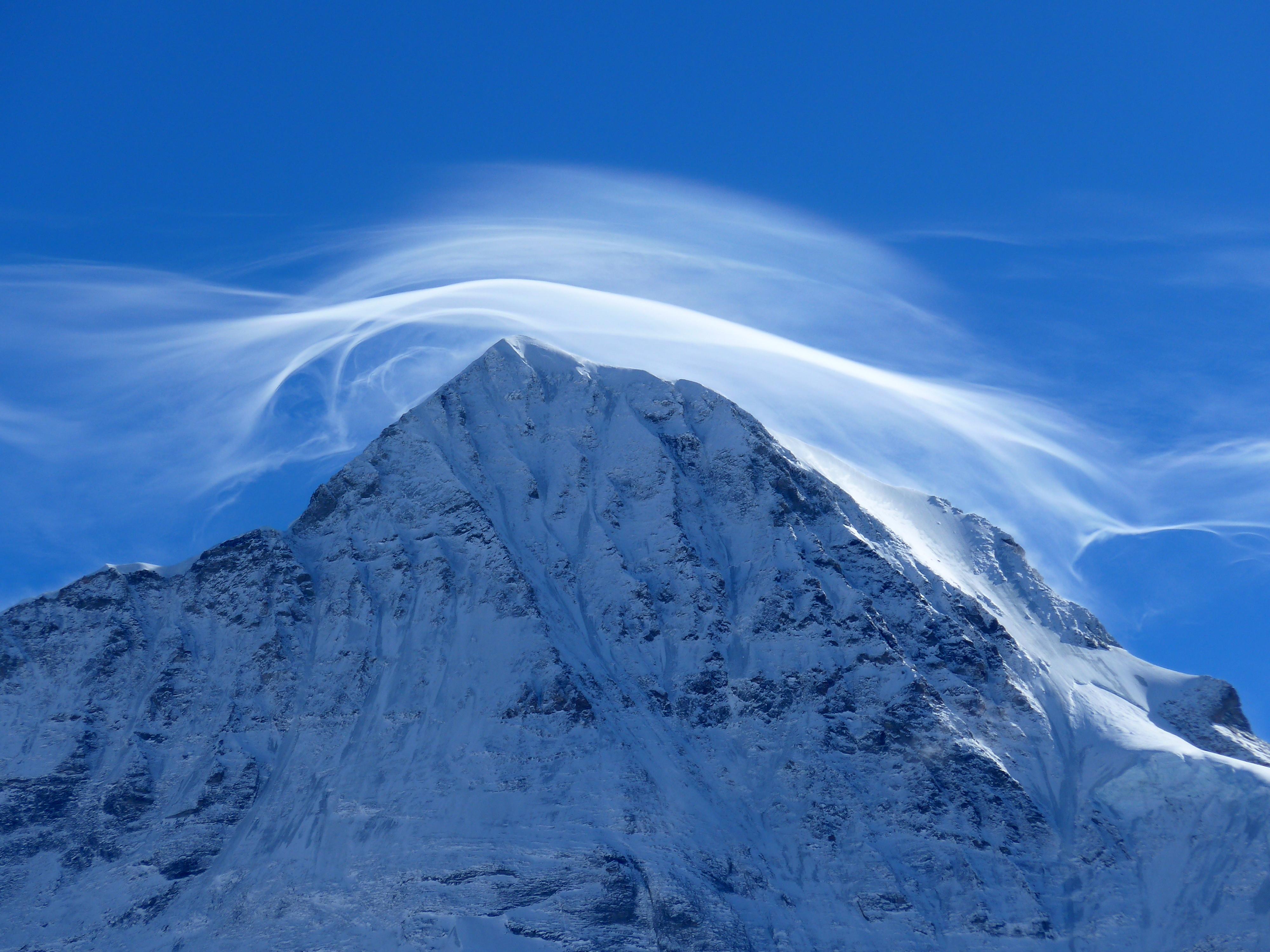 91824 免費下載壁紙 性质, 山, 戈拉, 顶点, 云, 云端, 雪, 雪覆盖, 白雪覆盖 屏保和圖片