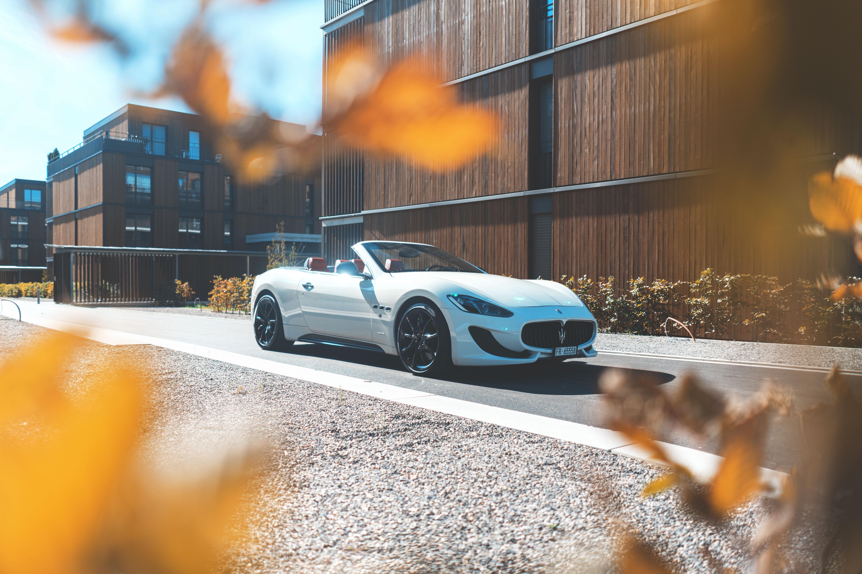 59024 Hintergrundbild herunterladen Maserati, Cars, Seitenansicht, Cabriolet, Maserati Granturismo - Bildschirmschoner und Bilder kostenlos