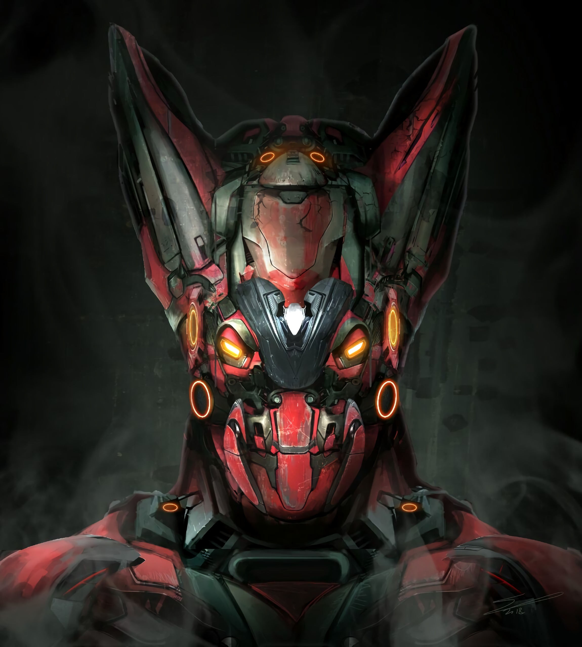 77477 Screensavers and Wallpapers Robot for phone. Download Art, Smoke, Head, Robot, Mechanics pictures for free