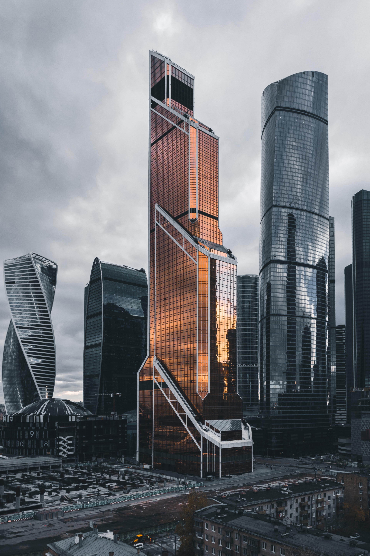 91115 скачать обои Москва-Сити, Москва, Россия, Города, Архитектура, Небоскребы - заставки и картинки бесплатно