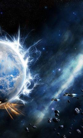 48192 baixar papel de parede Fantasia, Planetas, Universo - protetores de tela e imagens gratuitamente