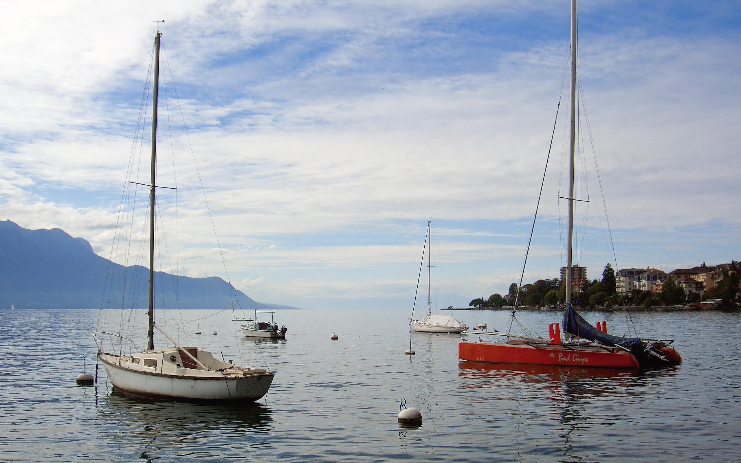 27060 免費下載壁紙 运输, 景观, 海, 游艇 屏保和圖片