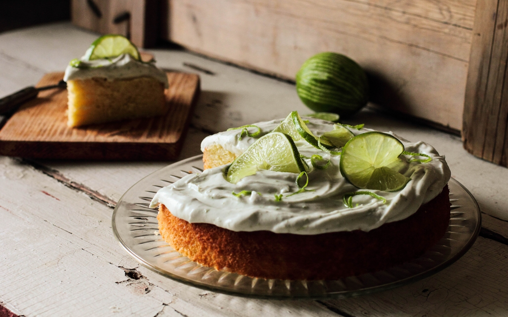 71920 download wallpaper Food, Lime, Cake, Cream screensavers and pictures for free