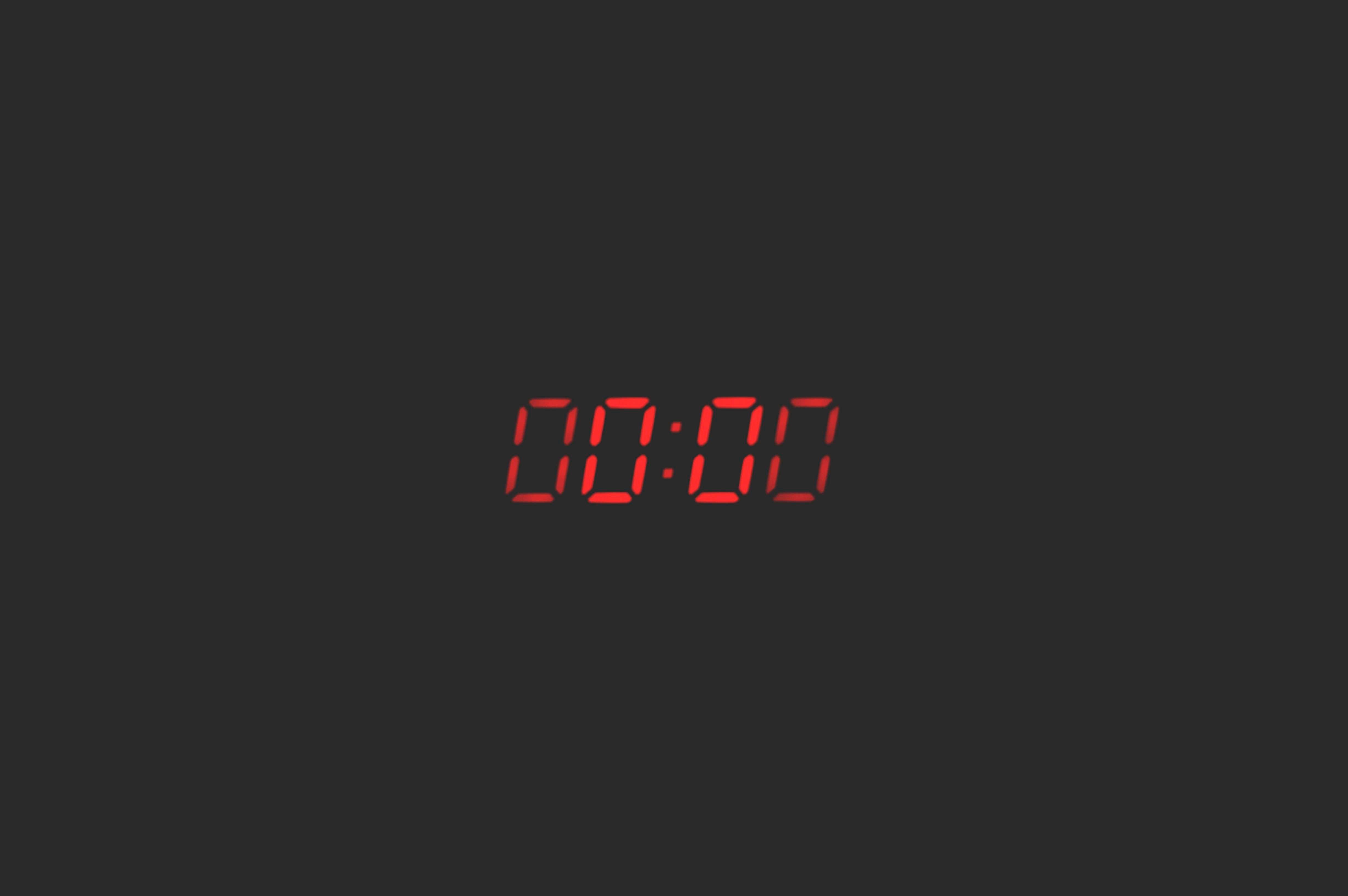 71880 скачать обои Темные, Время, Отсчет, Ноль, Часы - заставки и картинки бесплатно