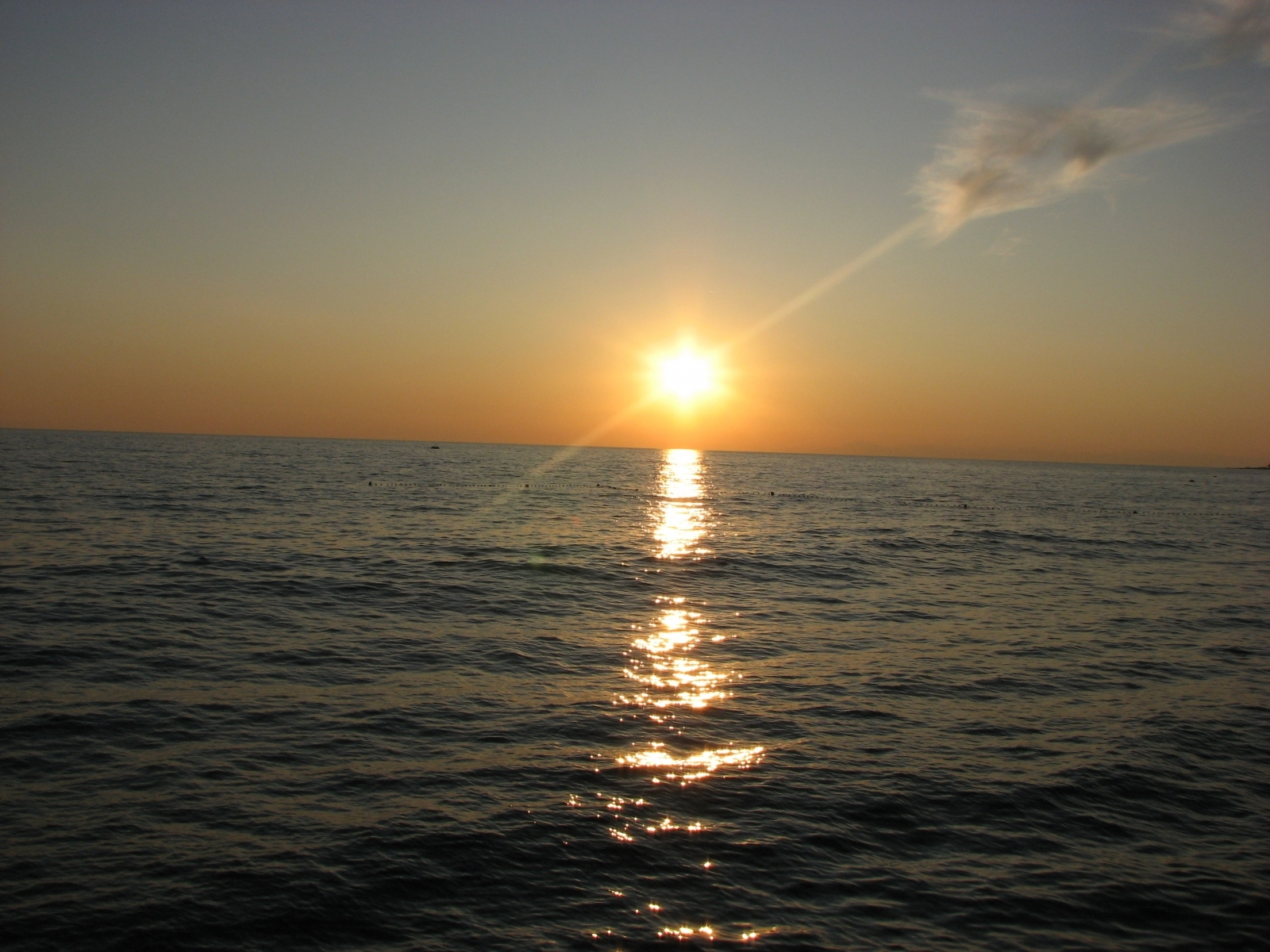 5110 скачать обои Пейзаж, Вода, Закат, Небо, Море, Солнце - заставки и картинки бесплатно