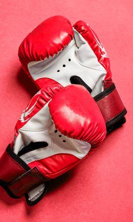 59316 скачать обои Боксерские Перчатки, Перчатки, Бокс, Красный, Спорт - заставки и картинки бесплатно