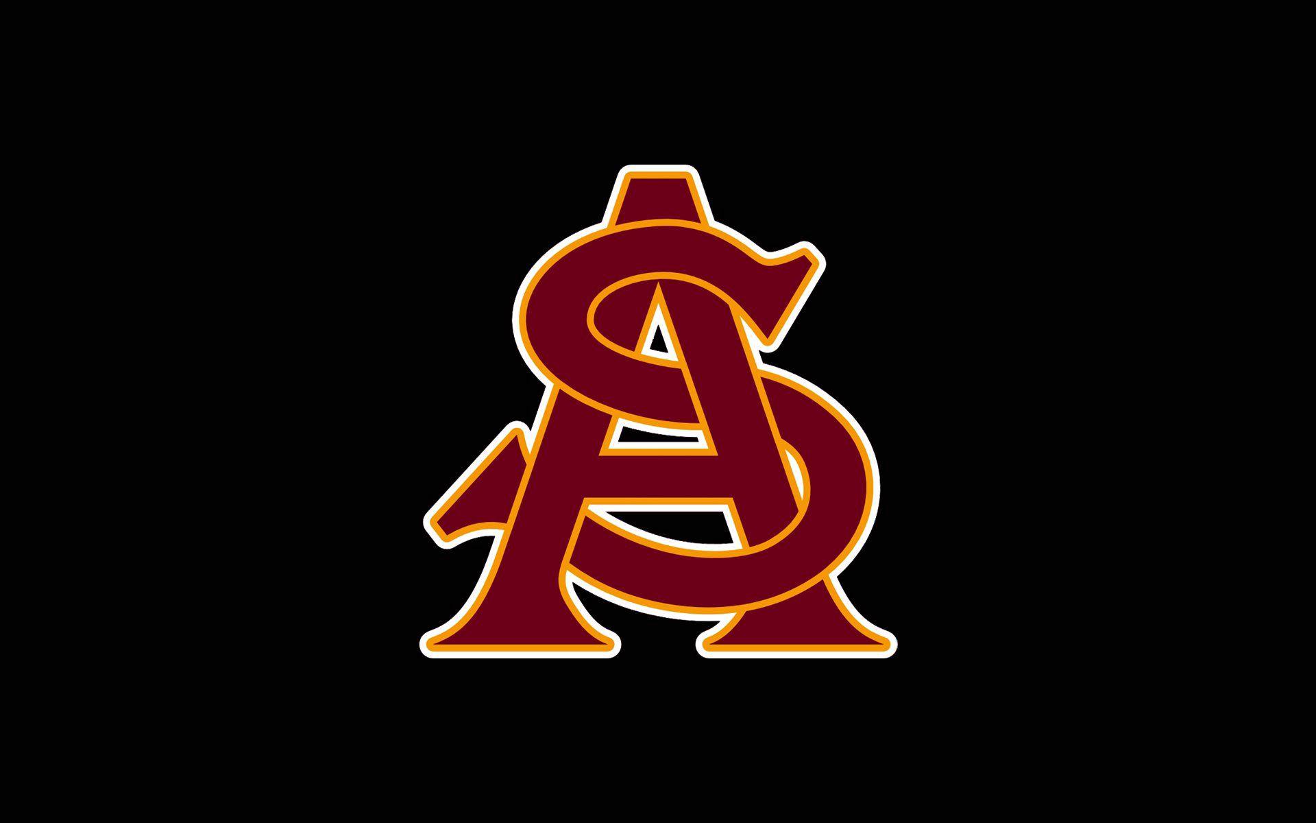 102143 скачать обои Спорт, Arizona State, Sun Devils Football, Логотип - заставки и картинки бесплатно