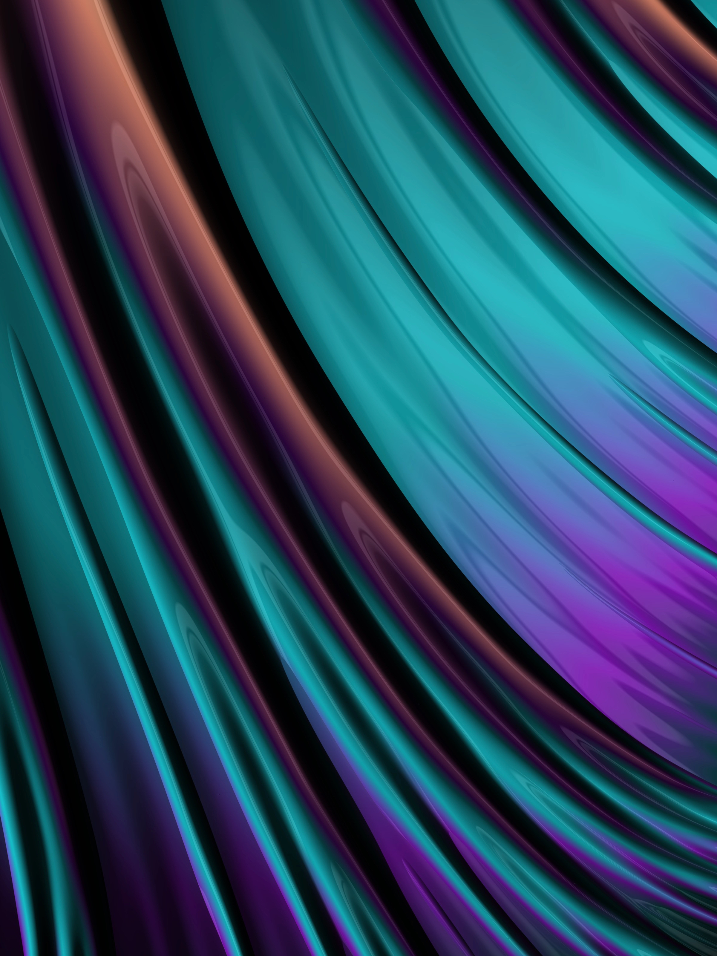 142071 download wallpaper Abstract, Gloss, Glossy, Volume, Wavy, Waves screensavers and pictures for free