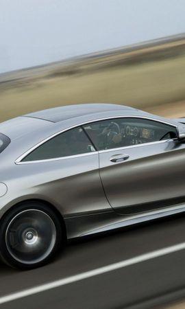 144732 télécharger le fond d'écran Voitures, Mercedes, S500, Coupé, Coupe, 2015 - économiseurs d'écran et images gratuitement
