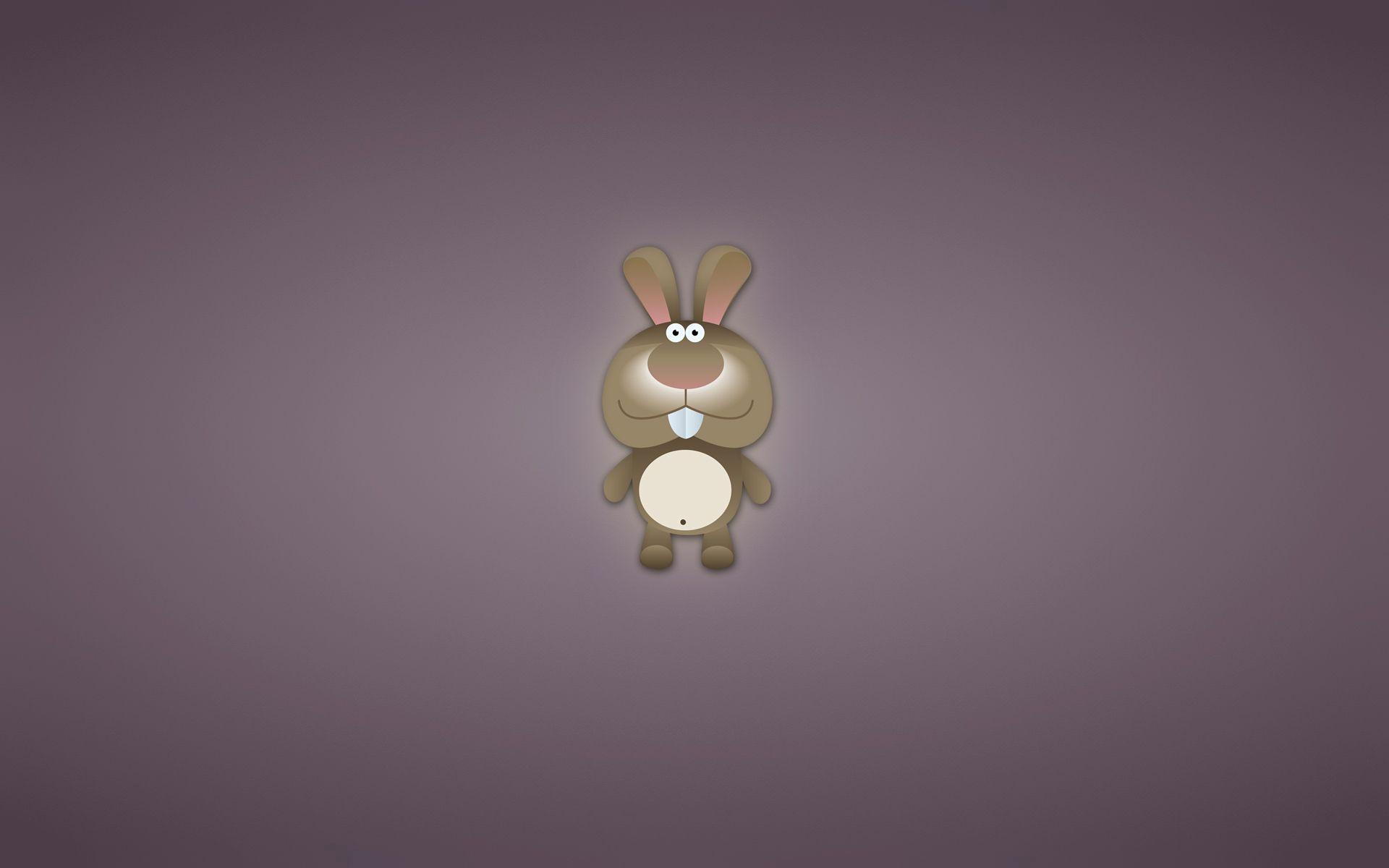 87483 Hintergrundbild herunterladen Kunst, Kaninchen, Vektor, Bild, Zeichnung, Lila - Bildschirmschoner und Bilder kostenlos