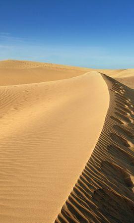 91925 скачать обои Природа, Песок, Небо, Ветер, Пустыня - заставки и картинки бесплатно