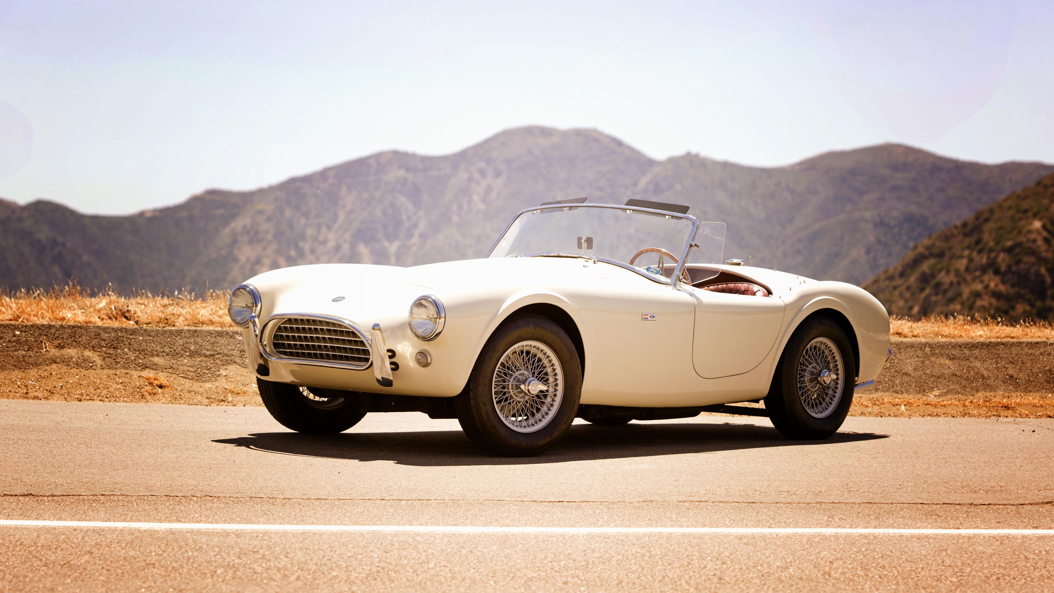 58138 скачать обои 1963, Форд (Ford), Кобра (Cobra), Тачки (Cars), Белый, Shelby, Кабриолет - заставки и картинки бесплатно