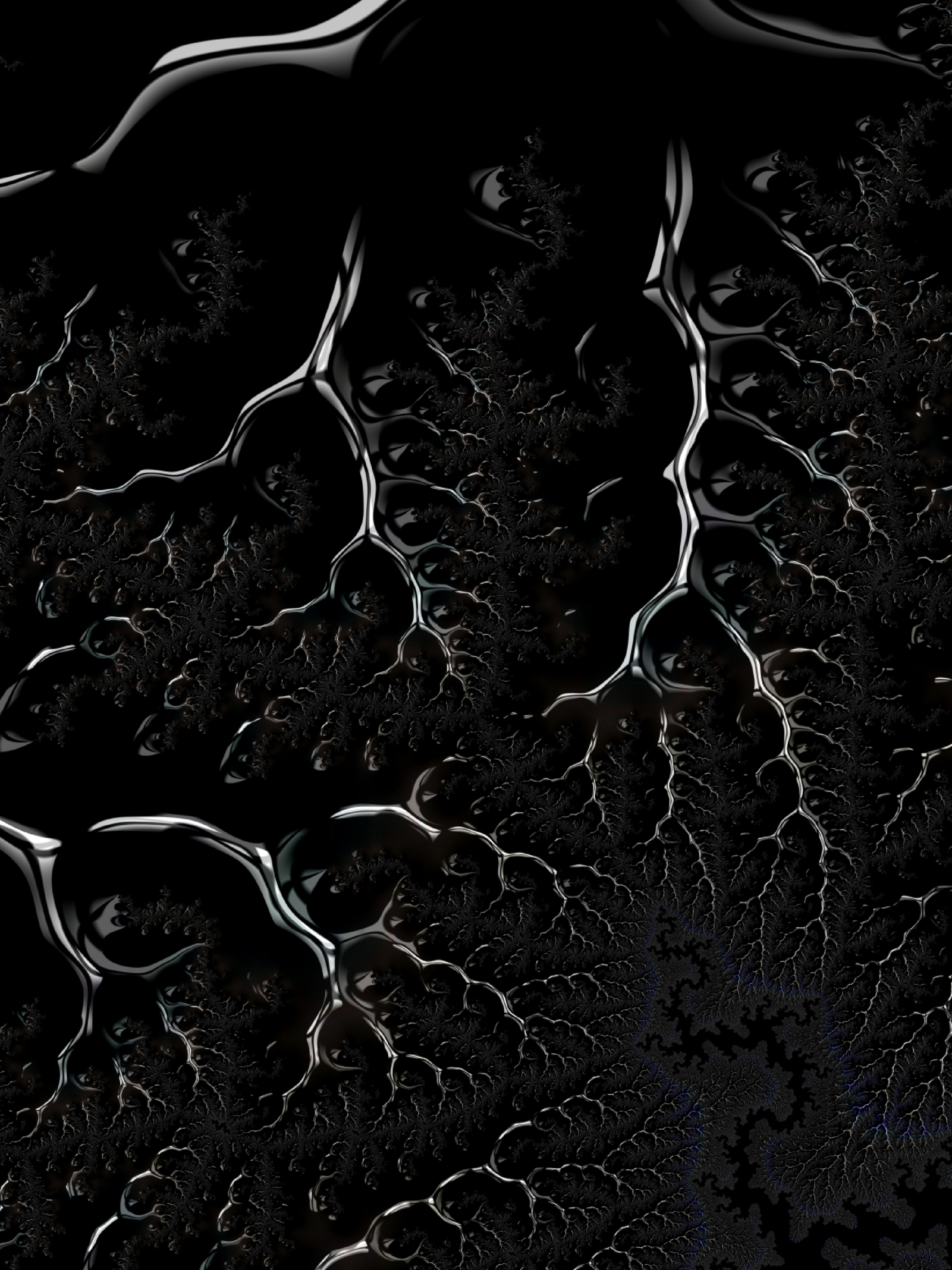 133291 download wallpaper 3D, Dark, Fractal, Branching, Ramified, Crawling screensavers and pictures for free