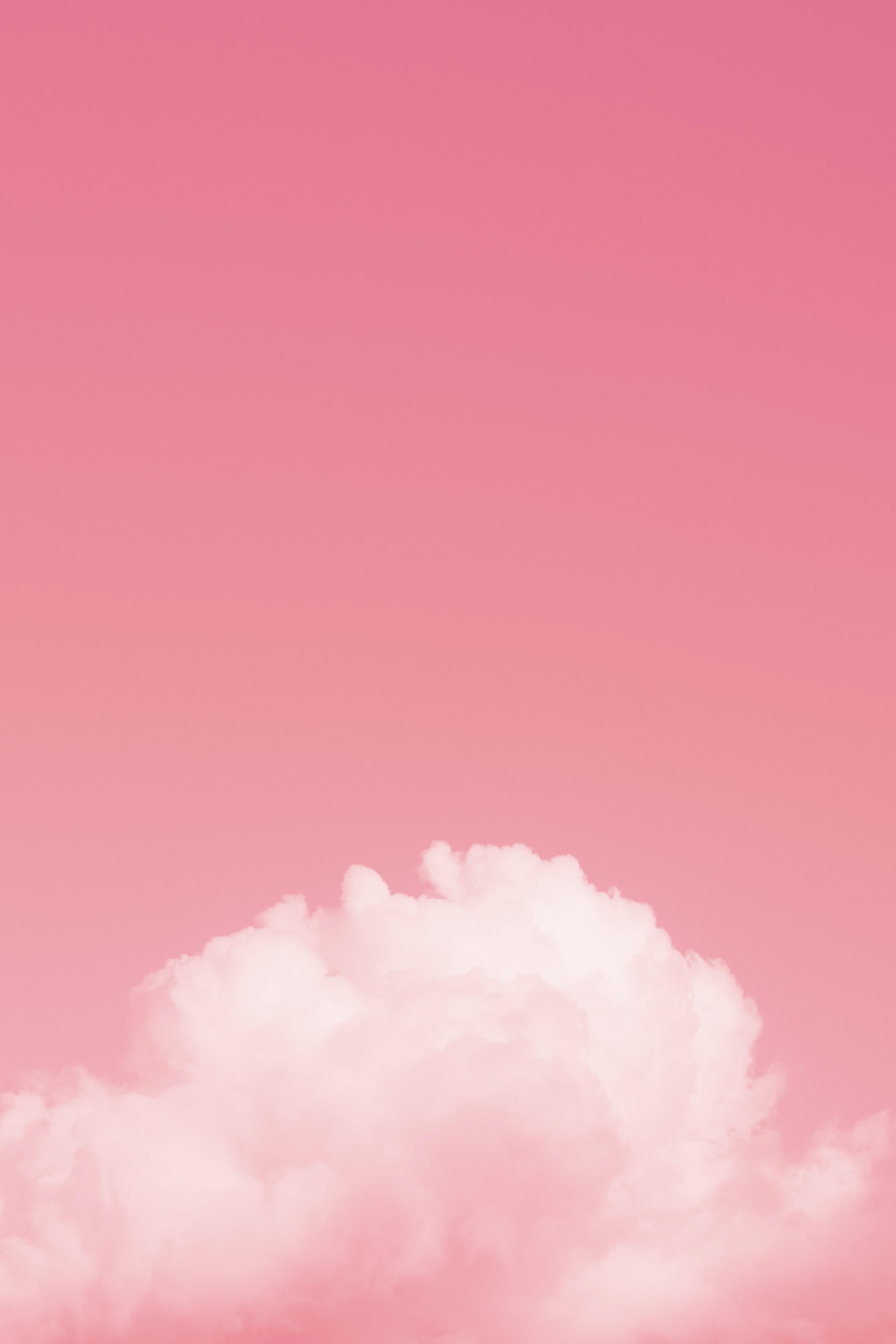 108780 免費下載壁紙 极简主义, 云, 云端, 天空, 粉色的, 粉色 屏保和圖片